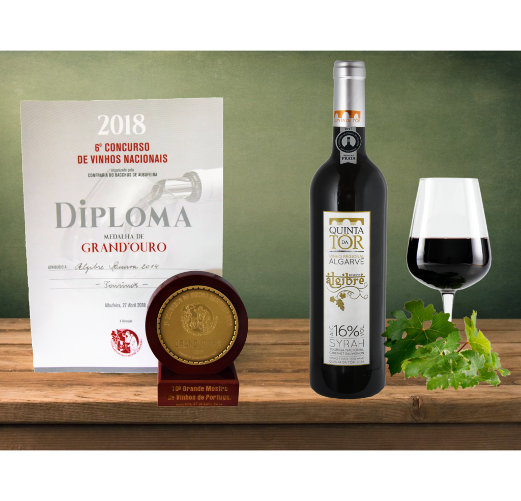 Algibre – Grand'Ouro at 6th contest of National Wines